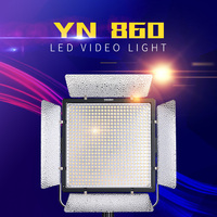 YONGNUO YN860 Dual Color LED Video Light with 3200k 5500k Adjustable Color Temperature Video LED Light Lamp For Selfie Beauty M