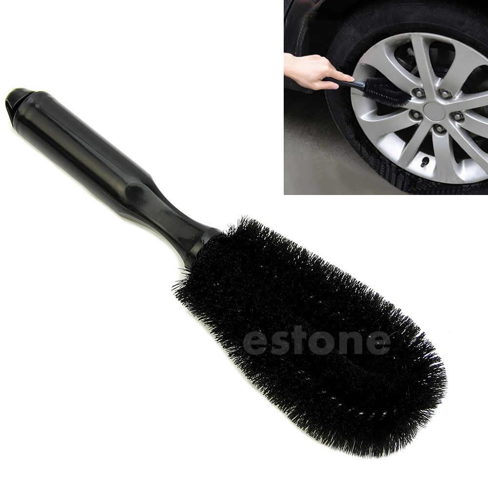 Car Vehicle Motorcycle Wheel Tire Rim Scrub Brush Washing Cleaning Tool Cleaner Drop Ship N21