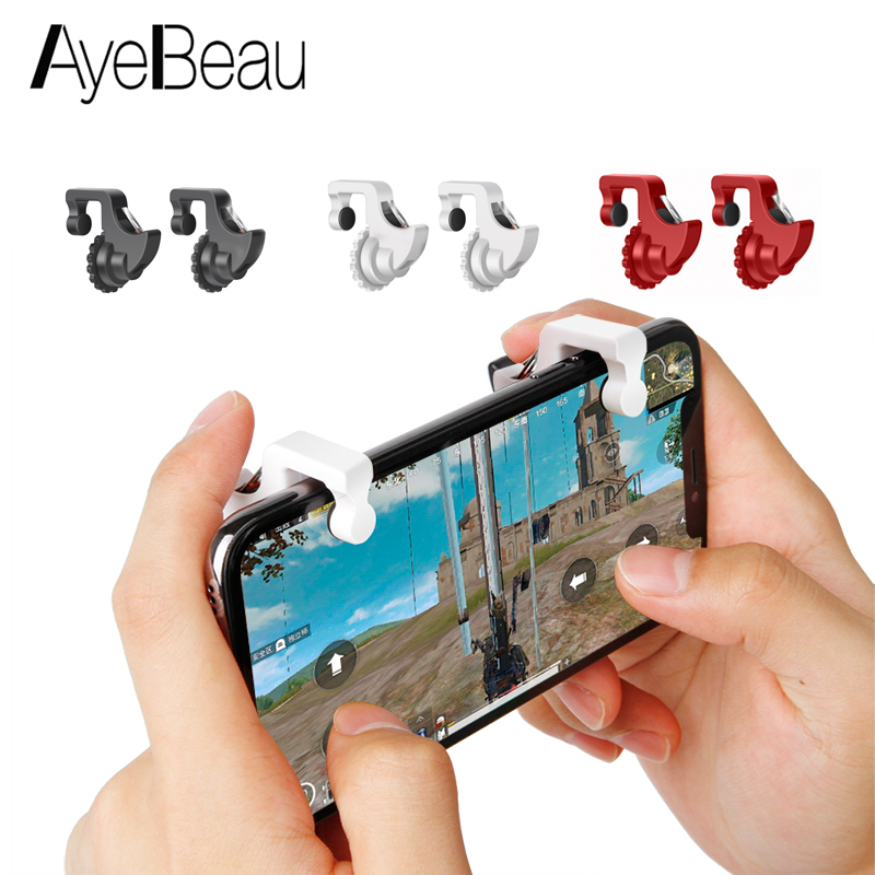 Joystick Gamepad Trigger For Cellular Phone L1R1 Pubg Controller Gamepad L1 R1 Mobile Fire Button Game Gaming Shooter iPhone Ios
