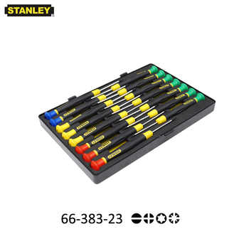 Stanley 15pcs mini micro combination screwdriver kits set tools for PC laptop watch eyeglass smartphone electronic toys battery
