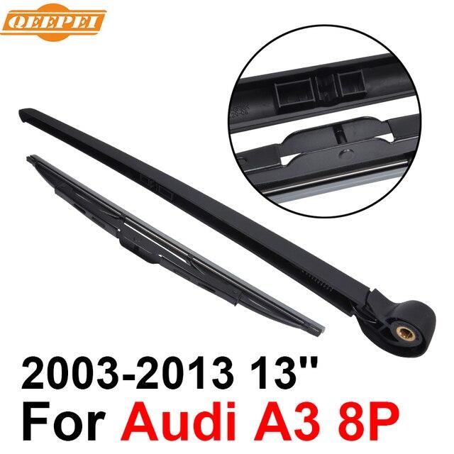 qeepei rear wiper blade and arm for audi a3 8p 2003 2013 13 3 5 rh aliexpress com Audi A3 Sportback Audi A3 Service Manual