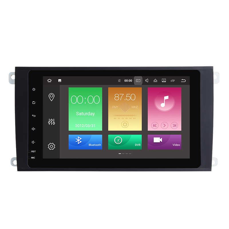 Android 8,0 9 ''8-core автомобиль радио аудиоплеер для Porsche Cayenne gps без DVD Мультимедиа Стерео головное устройство навигации OBD WiFi DVR