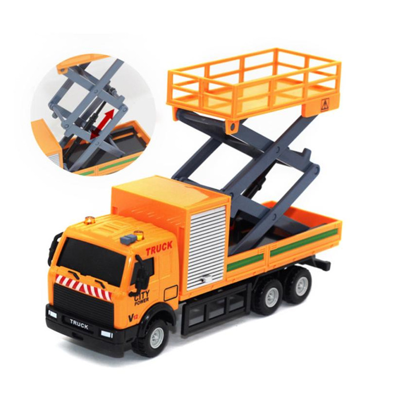 Toy Car Carrier : Racing bicycle shop truck toy car carrier vehicle