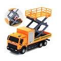 1:43 racing tienda de bicicletas coche de juguete vehículo de transporte de camiones camión de basura funde y automóviles de juguete toys para niños