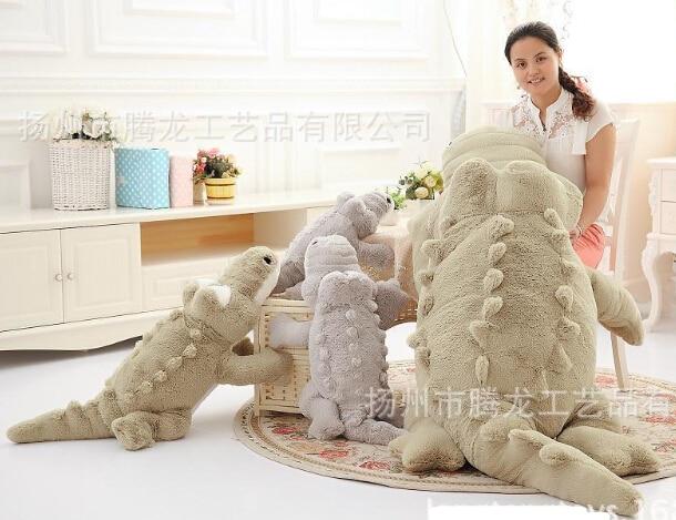 Oversized plush doll pillow / cartoon crocodile doll dolls tetiana tikhovska paper doll
