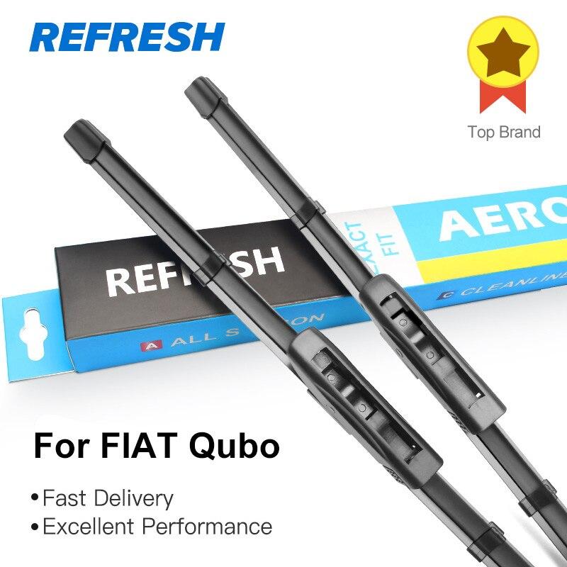REFRESH Щетки стеклоочистителя для модели FIAT Qubo Europe Fit Bayonet Arms 2008 2009 2010 2011 2012 2013