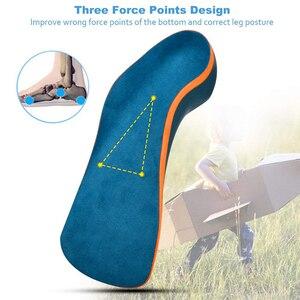 Image 3 - Demine 어린이 정형 안창 Flatfoot Corrector 아치 지원 정형 패드 유아 어린이 신발 패드 발 건강 관리