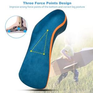 Image 3 - Demine 子供整形外科インソール扁平足コレクターアーチサポート矯正パッド幼児の子供の靴パッド足ヘルスケア