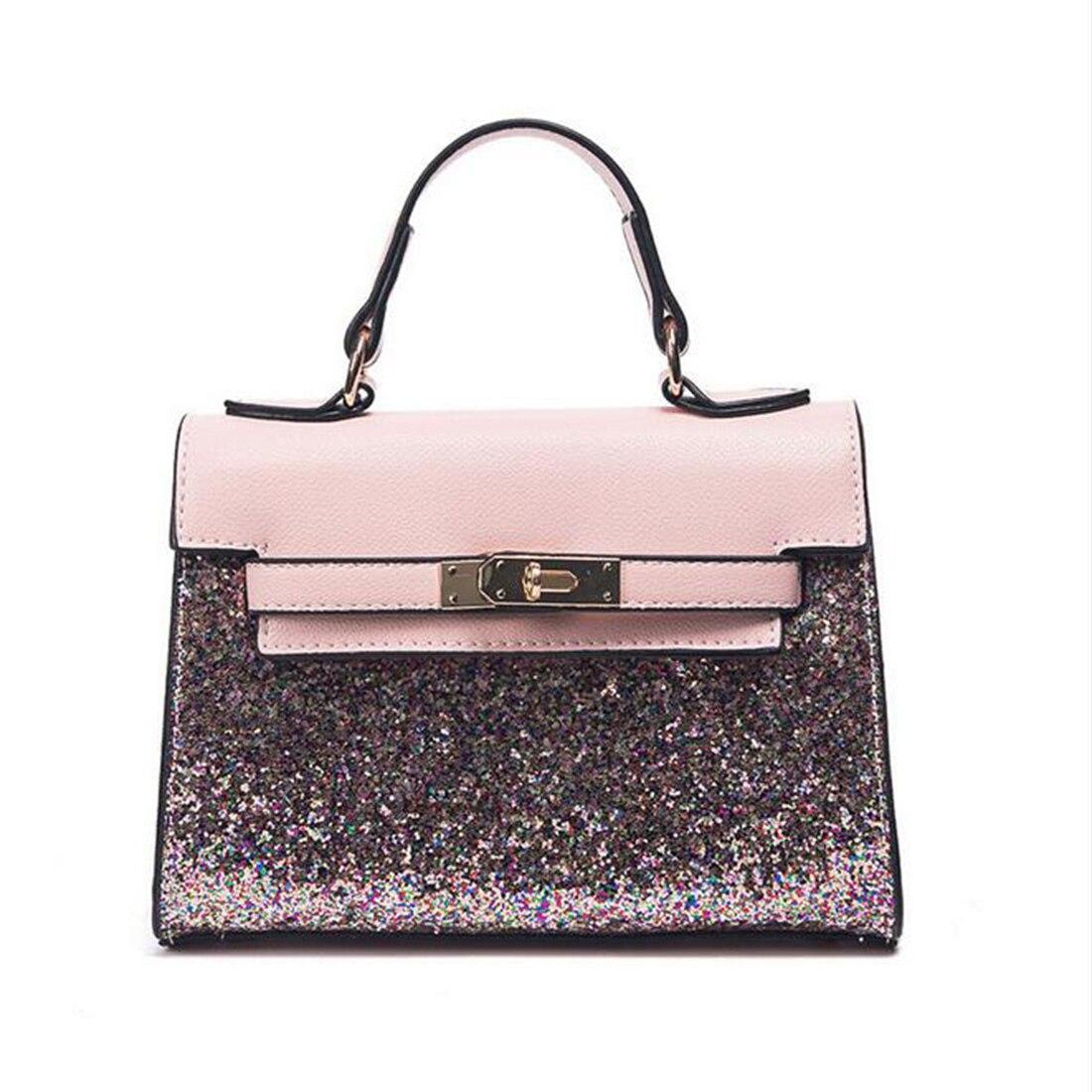 Luxury Handbags Women Bags Designer Handbags High Quality Sequin leather Tote Ba