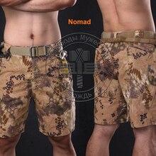 Летние Nomad военные Шорты до колена укороченные штаны для школа Камуфляж Ripstop Kryptek армии Шорты легкий