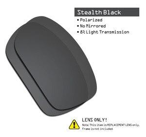 Image 2 - SmartVLT 2 pary spolaryzowane okulary przeciwsłoneczne wymienne soczewki dla Oakley skalpel Stealth czarny i niebieski lód