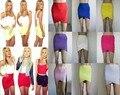 Entrega gratuita de la moda europea y americana estrella varios colores cruzan faldas vendaje