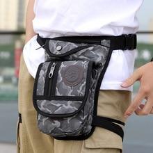 Outdoor Ride Waterproof Nylon Tactical Camouflage Waist Bag For The Belt Bananka Men Fanny Pack Motorcycle Leg