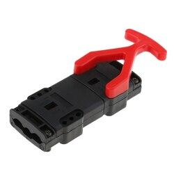 80A kabel podłączeniowy akumulatora odłącz uchwyt złącza wózka widłowego część zamienna część 4.7x2. 0 cala czarny