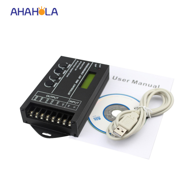 Tc420 programmable led time controller 5 24v 5 channel led timer tc420 programmable led time controller 5 24v 5 channel led timer dimmer for rgb led aloadofball
