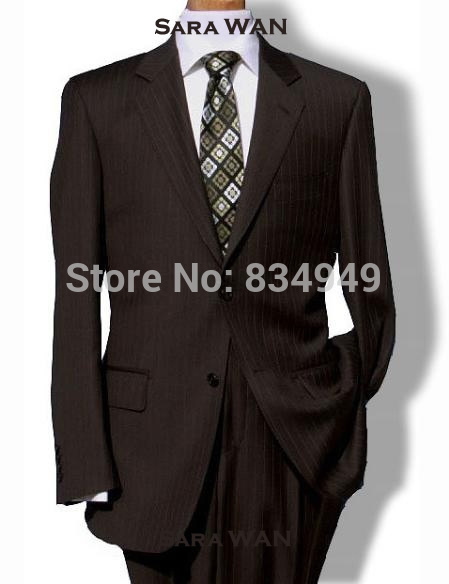 Online Get Cheap Brown Pinstripe Suit -Aliexpress.com | Alibaba Group