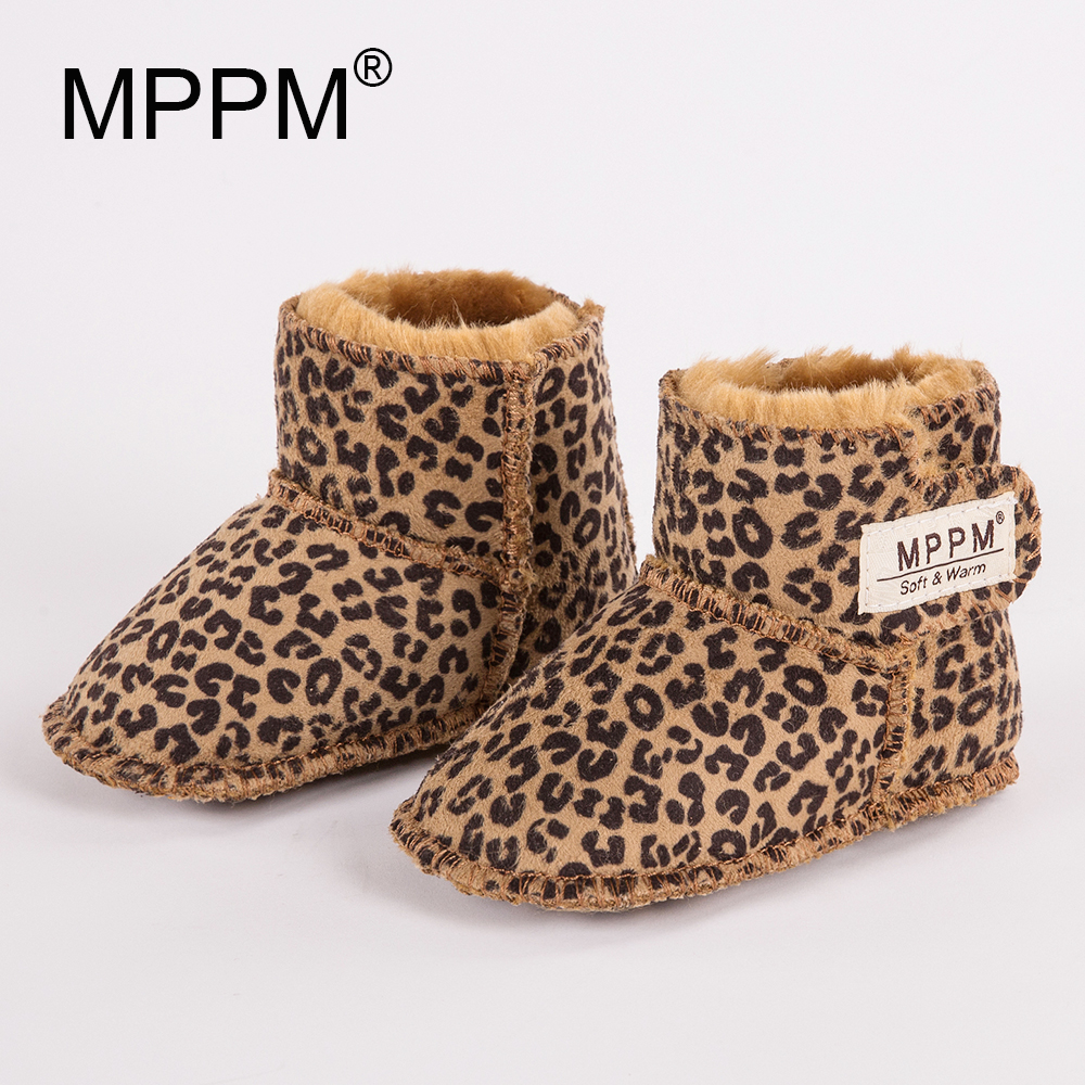 Botas de nieve para bebés FUR123 para el invierno Botas de suela - Zapatos de bebé
