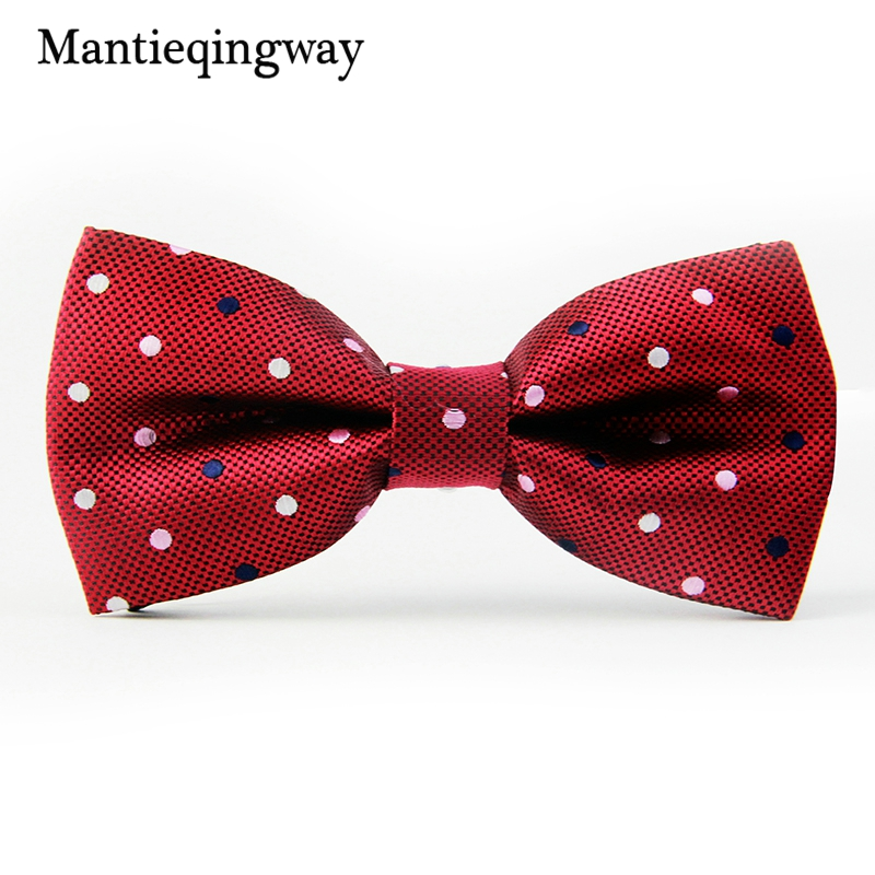 Mantieqingway Solid & Dot Bow Tie Үйлену - Киімге арналған аксессуарлар - фото 2