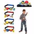 Pokeball Клип N Нести Крест 2 Pokeballs Случайный Рисунок Пикачу Фигурки Игрушки с Регулируемый Ремень Детские Игрушки Подарок