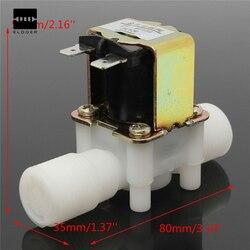 1/2 дюйма новый Электрический электромагнитный Клапан 12 В Магнитная DC n/c воды впуска воздуха коммутатором потока DC12V 5 вт 80x35x55 мм выгодные