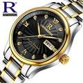 New Brand Relogio Feminino Date Day Clock Female Stainless Steel Watch Ladies Fashion Casual Watch Quartz Wrist Men Watches 1853