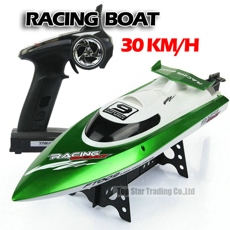 Ft009 2.4g High Speed Racing Rc Boat Ship With Water Cooling Motor System 30km/h Vs Ft012