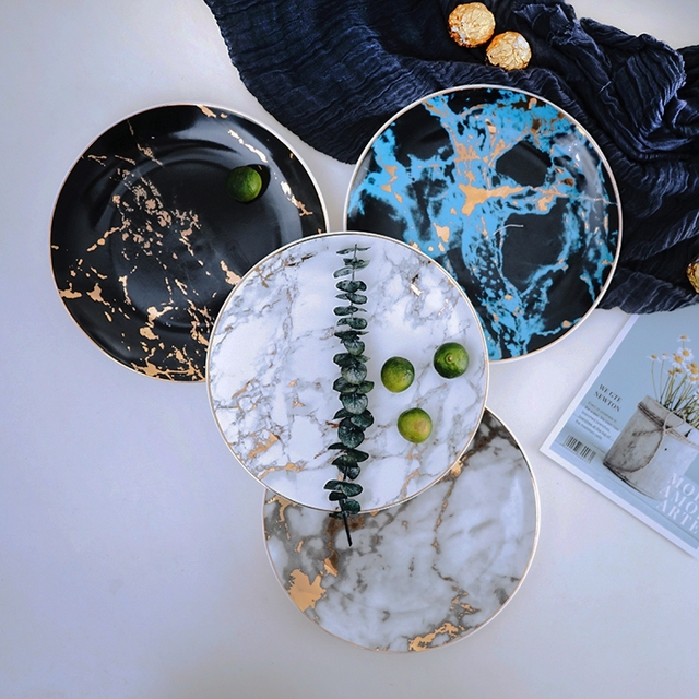 """HTB1pK4QXjzuK1RjSspeq6ziHVXaP.jpg 640x640 - tabletop-and-bar, dinnerware - """"Le Royal"""" Marble Collection"""