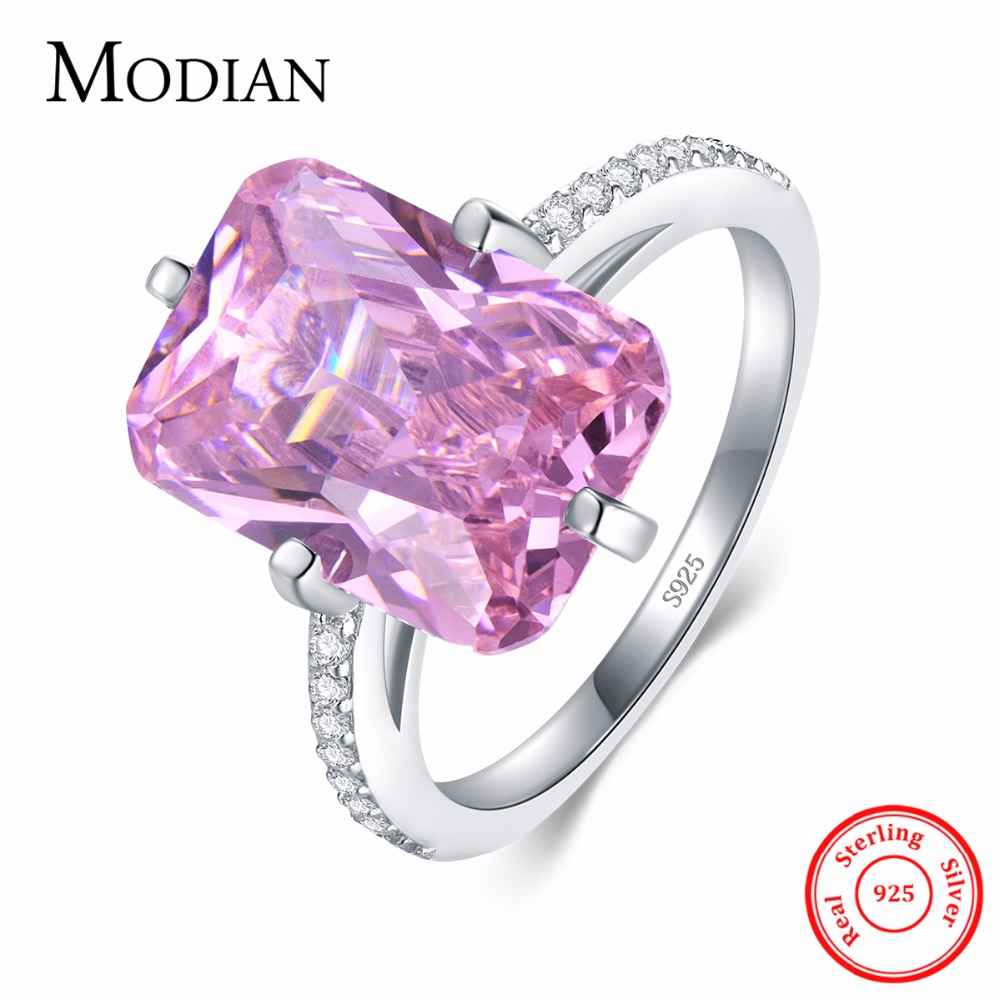 Hot sale Fashion Luxury Women Engagement Jewelry 925 sterling Silver ...
