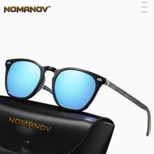 Fashion Retro TR90 Blur Black Brown Sun Glasses Polarized Mirror Sunglasses Custom Made Myopia Minus Prescription Lens -1 to -6