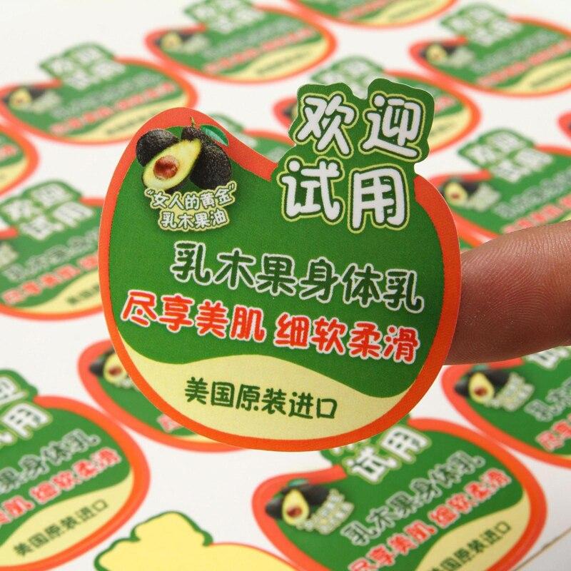 personalizado die cut adesivos adesivos de vinil a prova d agua com design personalizado