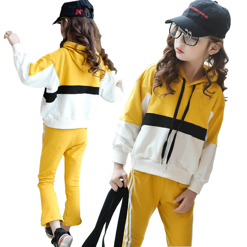 Girls clothing sets girls sport suit teenage girls clothes striped 2pcs children clothing set 4-14 years kids clothes tracksuit girls winter clothes children clothing sets kids sport suit butterfly print cotton clothes girls clothing set kids tracksuit 3pc
