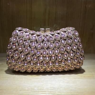 купить XIYUAN BRAND Evening Shoulder Bag Bridal Clutch purse Student graduation party Prom Wedding Handbag cocktail wallet day cluthes онлайн