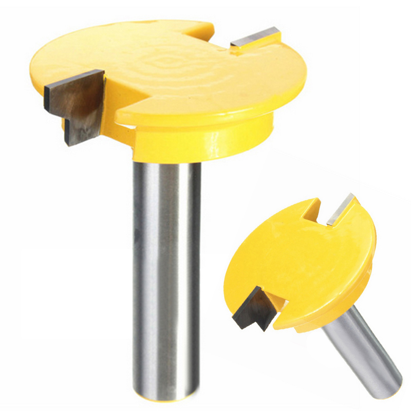 High Quality 1/2'' Shank Straight Router Bit Drawer Engraving Cutter For Woodworking DIY Tool