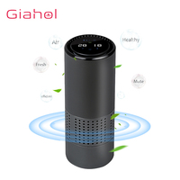 HEPA Filter Car Air Purifier Negative Ion Generator Freshener Air Cleaner Removing Formaldehyde for Car Home Air Purifier