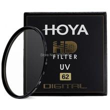 Hoya 62มิลลิเมตรHD UVอัลตร้าไวโอเล็ตกรองดิจิตอลความละเอียดสูงป้องกันเลนส์สำหรับPentax Canon Nikon O Lympusโซนี่Leicaกล้องเลนส์