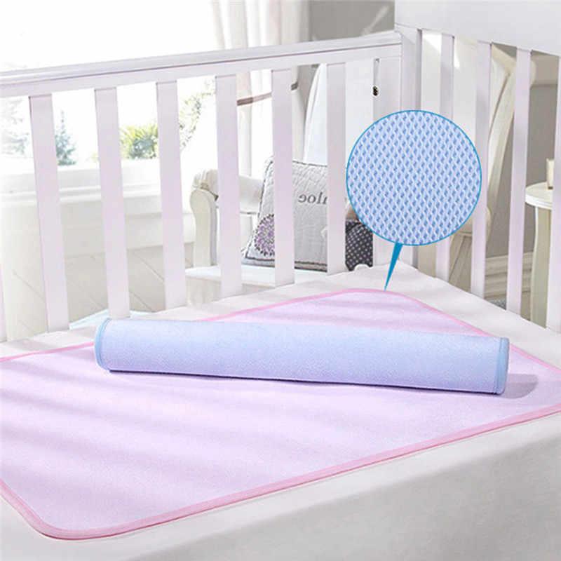 Высококачественные Детские многоразовые подгузники из бамбукового волокна, Детские матрасы, пеленальные пеленки, водонепроницаемый матрас для ухода за ребенком