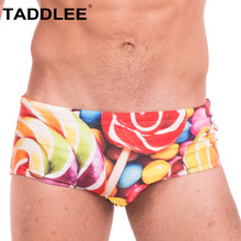 Taddlee Sexy Swimwear Men Swimsuits Swim Briefs Bikini Boxer Trunks Gay Penis Pouch Bathing Suits Man Board Surf Shorts 2018 New taddlee brand sexy men swimwear men s swimsuits surf board beach wear man swimming trunks boxer shorts swim suits gay pouch wj
