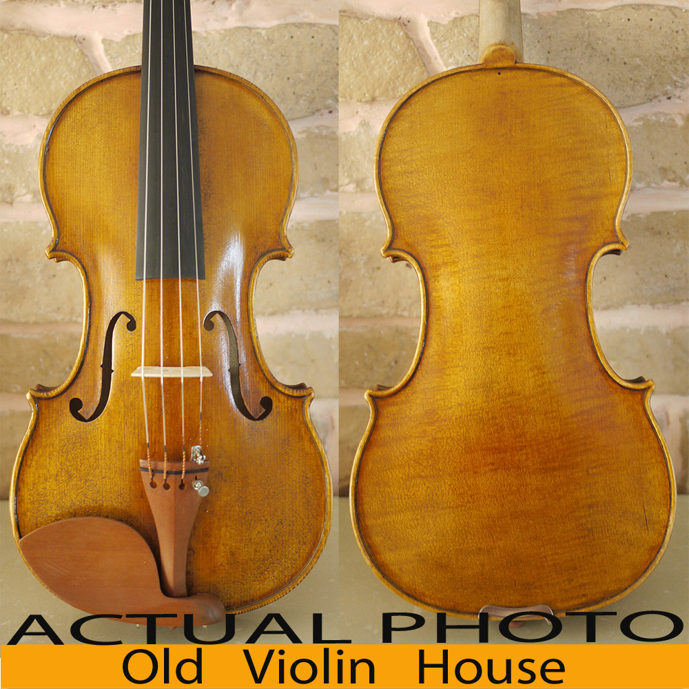 Copy Of A 19Th Century French Violin . Oil Varnish .Warm Tone. Free violin case , bow and rosin.NO.2658 handmade new solid maple wood brown acoustic violin violino 4 4 electric violin case bow included