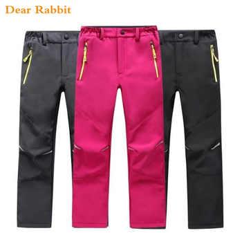 NEW Brand Autumn Winter Children Warm girls leggings Trousers Kids Boys 10 12 years windproof waterproof Sport Pants sweatpants
