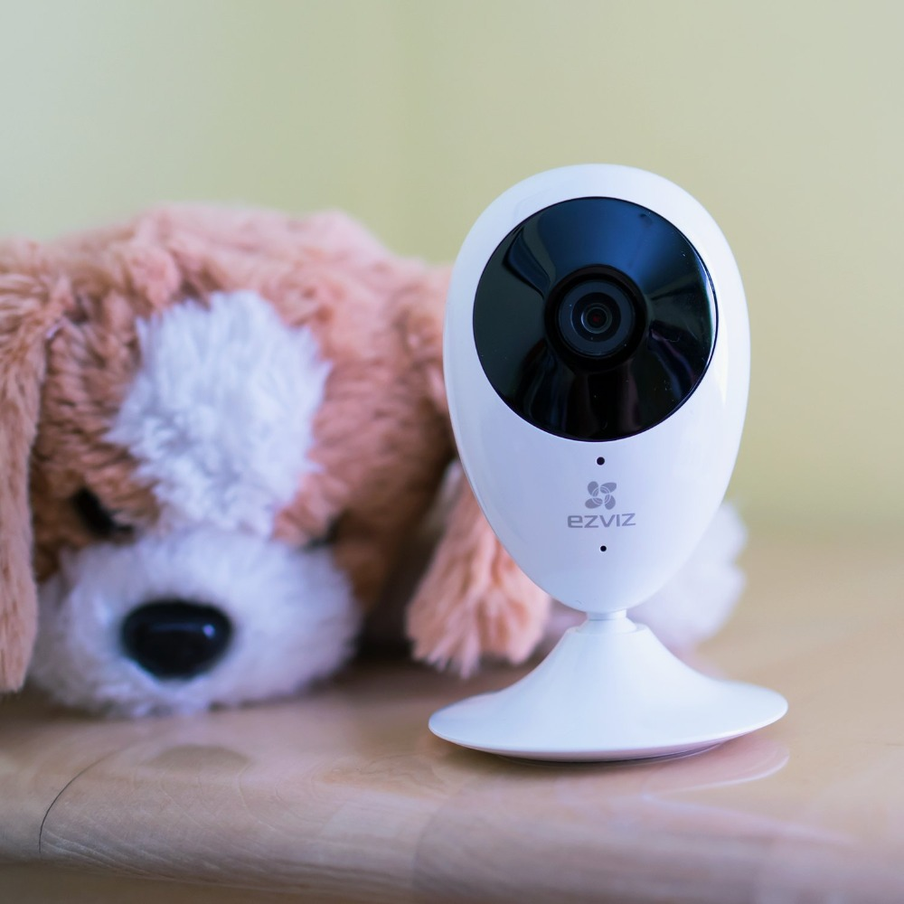 ФОТО Mini 720p HD WiFi Home Video Monitoring Security Camera Works with Alexa using IFTTT