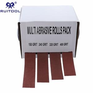 Image 1 - Rolo macio da lixa das correias de moedura dos pces 25mm * 6m da correia 4 de lixamento de pano de emery da lixa para os turners de madeira, automotivo