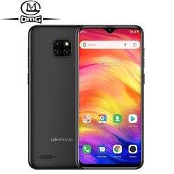 Перейти на Алиэкспресс и купить ulefone note 7 smartphone 6.1 inch android 8.1 phones waterdrop screen quad core mobile phone 3500mah wcdma unlock cell phone