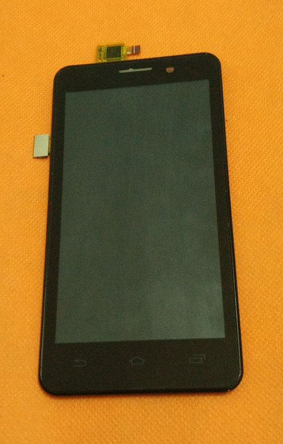"""Used Original Touch screen + LCD display + Frame for UMI X1S MTK6589 Quad Core 4.5""""  HD 1280x720 Free shipping"""