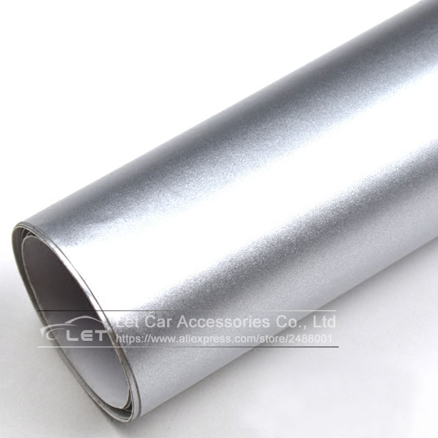 matt Silver chrome Metallic Matt Vinyl wrap Car Wrap With Air Bubble Free Chrome Silver Matt Film Vehicle Wrapping Sticker Foil maserati granturismo carbon spoiler