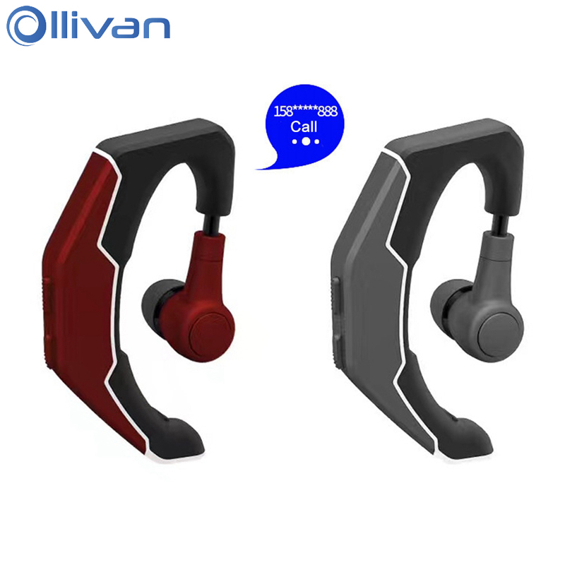 Ollivan Q3 Bluetooth Headset Stereo Wireless Headphone Sports Business Earphone Ear Hook Auriculares With Microphone For Xiaomi h08 bluetooth headset wireless headphone in ear stereo earphone microphone for xiaomi lg iphone earbuds auriculares ecouteur