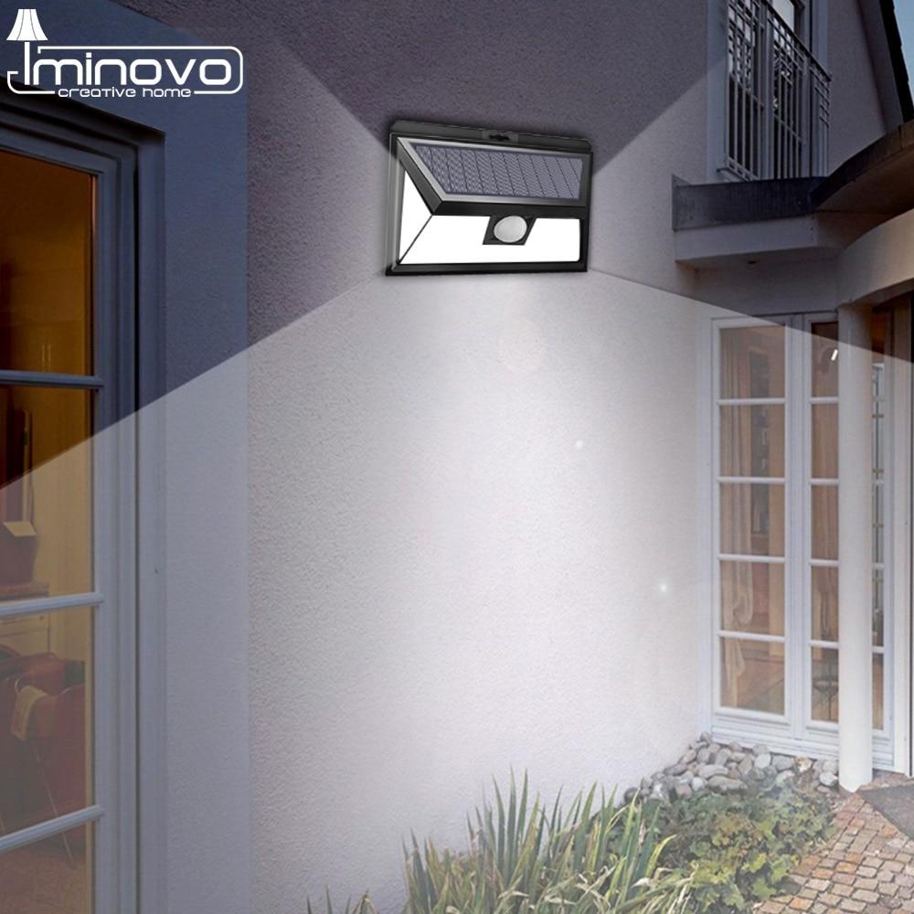 Solar Lamp Outdoor Led Light Wall Street Garden Security PIR Motion Sensor Solar Powered Lampada Waterproof IP65 Decorative
