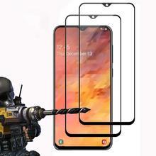 Protetor de Tela Para Samsung Galaxy A50 9D a10 a20 de Vidro Temperado Para Samsung a70 a80 A60 A30 A40 A90 Filme VIDRO 100 pçs/lote GRANEL
