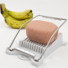 Multifunctional Fruit banana slicers Stainless Steel Egg Cucumber Cutter salad Sausage Slicer Kitchen gadgets #