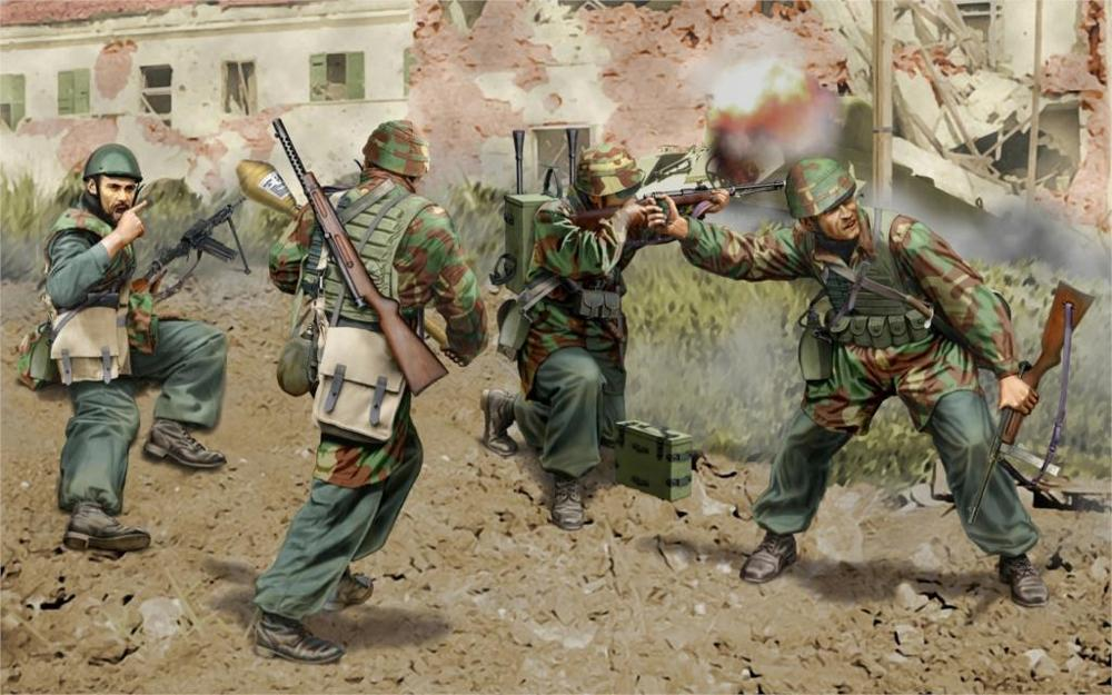 Art world war ww2 city street italian paratroopers weapons machine art world war ww2 city street italian paratroopers weapons machine guns carbines faust ammunition home decoration canvas poster in painting calligraphy sciox Images