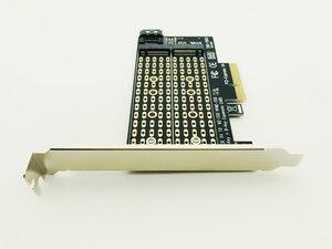 Image 4 - H1111Z להוסיף על כרטיסי PCIE כדי M2/M.2 מתאם SATA M.2 SSD PCIE מתאם NVME/M2 PCIE מתאם SSD M2 כדי SATA PCI E כרטיס M מפתח + B מפתח